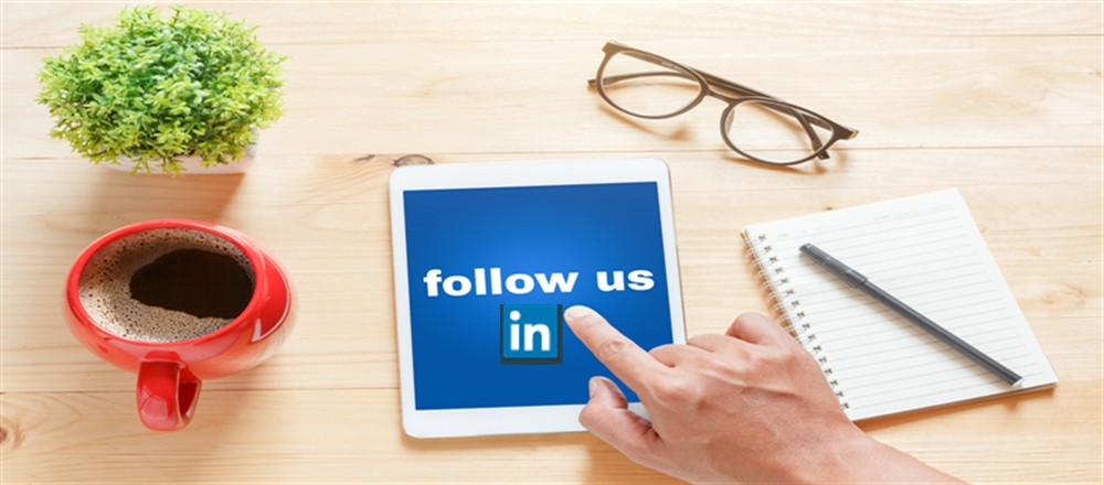 Come and Follow us on LinkedIn!!